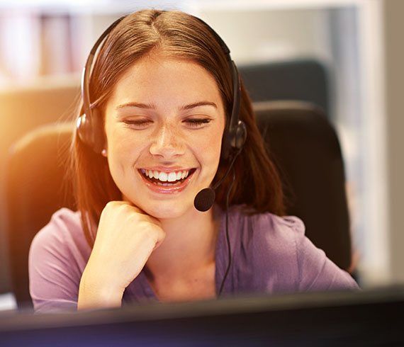 Gold Mountain Communications - Happy Call Center Agent